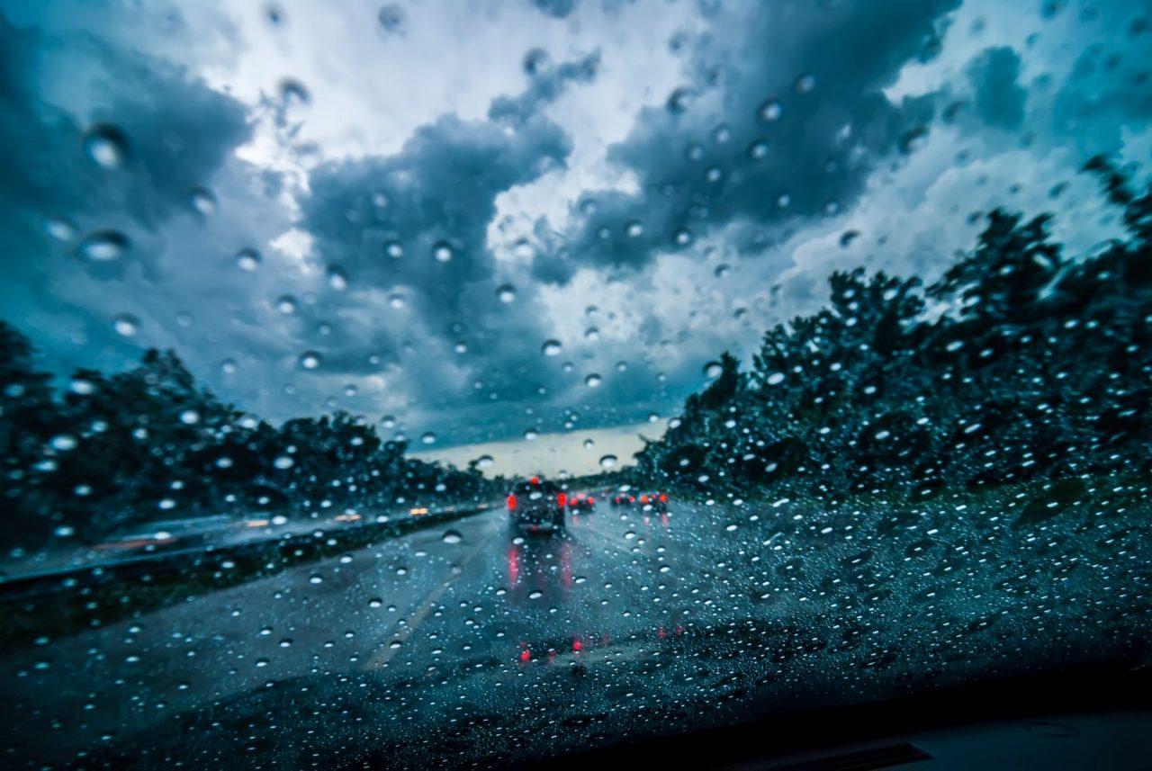 雨の日の配達